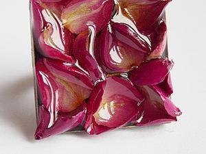 Делаем кольцо с лепестками роз. Ярмарка Мастеров - ручная работа, handmade.