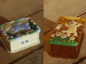 Делаем шкатулки в технике фьюзинг. Стеклянные миниатюры. Ярмарка Мастеров - ручная работа, handmade.