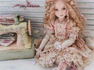 Интерьерная кукла куклы с душой: 5 уникальных работ наших мастеров. Ярмарка Мастеров - ручная работа, handmade.