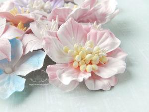 Мастерим цветы для скрапбукинга с помощью самодельных вайнеров. Ярмарка Мастеров - ручная работа, handmade.