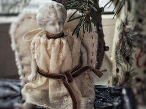 Ангел из антикварных деталей. Ярмарка Мастеров - ручная работа, handmade.