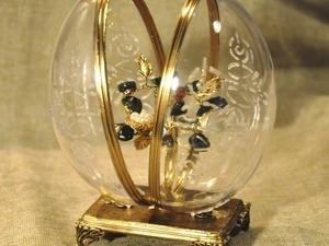 Декор пасхального яйца «Хрустальное». Ярмарка Мастеров - ручная работа, handmade.
