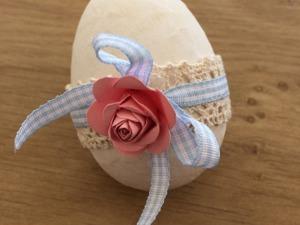Как быстро и красиво задекорировать пасхальное яйцо. Ярмарка Мастеров - ручная работа, handmade.