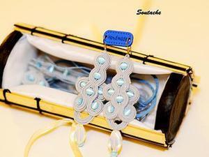 Шкатулка-упаковка для украшений из подручных материалов. Ярмарка Мастеров - ручная работа, handmade.