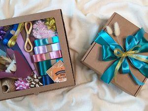Поступили наборы упаковки для оформления красивых подарков!. Ярмарка Мастеров - ручная работа, handmade.