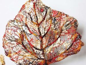 Waste-free Production: Paintings from Materials at Hand by Lisa Kokin. Livemaster - handmade