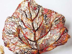 Безотходное производство — картины из подручных средств от Лизы Кокин. Ярмарка Мастеров - ручная работа, handmade.