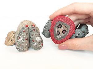 Лепим полые бусины из полимерной глины. Видео мастер-класс. Ярмарка Мастеров - ручная работа, handmade.