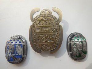 Мистические жуки-скарабеи — египетский символ возрождения. Ярмарка Мастеров - ручная работа, handmade.