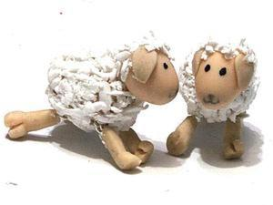 Мастер-класс: овечки-рафаэлки. Ярмарка Мастеров - ручная работа, handmade.