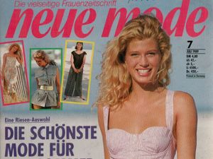 Neue mode 7 1989 (июль). Ярмарка Мастеров - ручная работа, handmade.