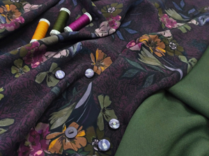 Штапель + костюмно-плательная ткань. Ярмарка Мастеров - ручная работа, handmade.