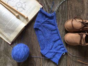 Как я вяжу свитерок. Ярмарка Мастеров - ручная работа, handmade.