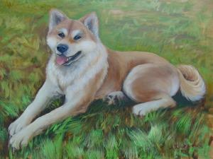 Видео мастер-класс: рисуем собаку маслом. Ярмарка Мастеров - ручная работа, handmade.