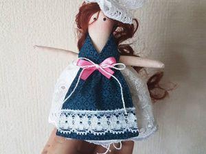 Шьём куколку для куклы. Ярмарка Мастеров - ручная работа, handmade.