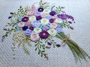 Вышиваем розу. Урок вышивки. Ярмарка Мастеров - ручная работа, handmade.