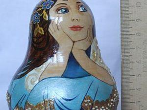 Техника двойного мазка на примере урало-сибирской росписи. Ярмарка Мастеров - ручная работа, handmade.