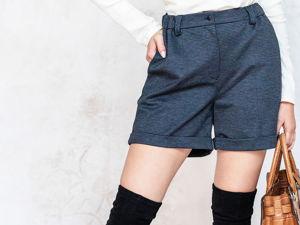 Новинка: теплые шорты! Как и с чем носить?. Ярмарка Мастеров - ручная работа, handmade.