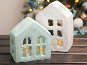 Создаем декоративные домики. Ярмарка Мастеров - ручная работа, handmade.
