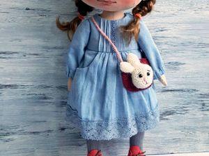 Шьем платье с карманами для куклы. Ярмарка Мастеров - ручная работа, handmade.