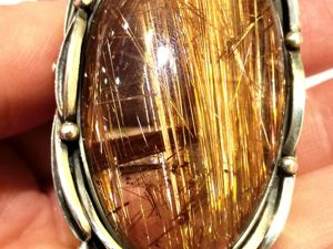Видео кольца «Venera» кварц волосатик,кованое серебро,ручная работа. Ярмарка Мастеров - ручная работа, handmade.