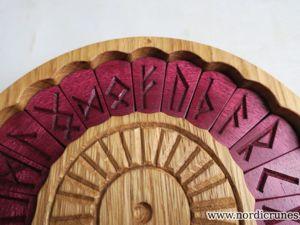 Работа с деревом. Руны из амаранта. Ярмарка Мастеров - ручная работа, handmade.