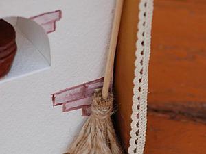 Мастер-класс: панно «В гостях у бабушки». Ярмарка Мастеров - ручная работа, handmade.