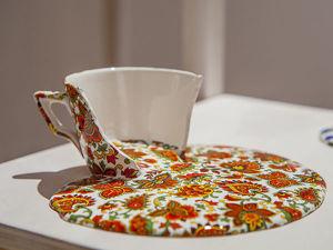 Растекающийся фарфор от Livia Marin. Ярмарка Мастеров - ручная работа, handmade.