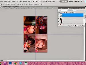 Печать маленьких и квадратных фото для скрапальбома — подготовка в Photoshop. Ярмарка Мастеров - ручная работа, handmade.