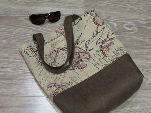 Скоро лето!!!! Льняные сумочки!!!!. Ярмарка Мастеров - ручная работа, handmade.