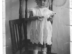 Детское нарядное платье 1945 год. Ярмарка Мастеров - ручная работа, handmade.
