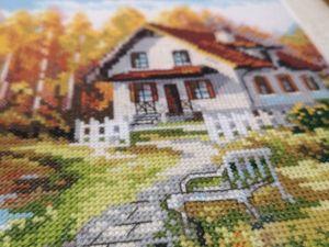 Скидка 20% на осеннюю вышивку крестиком  «В гости к осени». Ярмарка Мастеров - ручная работа, handmade.