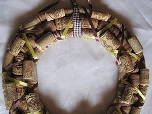 """Венок из пробок """"Невинная радость"""". Ярмарка Мастеров - ручная работа, handmade."""
