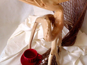 How to Create an Unusual Wooden Figurine out of Roots. Livemaster - handmade