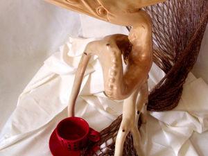 История создания необычной деревянной статуэтки. Ярмарка Мастеров - ручная работа, handmade.