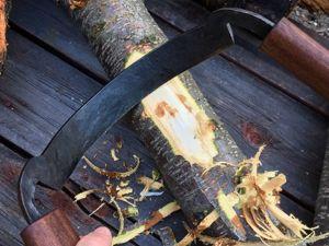 Кованый плотницкий инструмент нож-скобель (Кородёр). Ярмарка Мастеров - ручная работа, handmade.