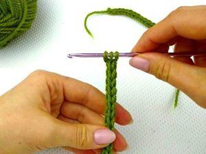 Как связать шнурок крючком. Ярмарка Мастеров - ручная работа, handmade.