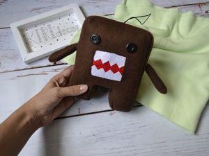 Мастер-класс по пошиву игрушки  Домокун. Ярмарка Мастеров - ручная работа, handmade.