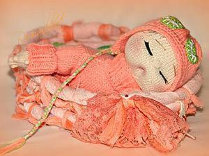Мастер-класс по вязанию малышки Сонюшки. Ярмарка Мастеров - ручная работа, handmade.