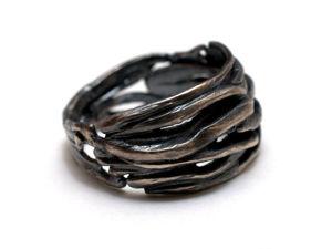 Видео серебряного кольца. Ярмарка Мастеров - ручная работа, handmade.