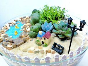 Видео мастер-класс: собираем флорариум из суккулентов. Ярмарка Мастеров - ручная работа, handmade.
