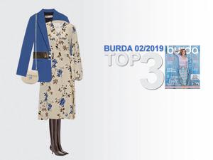 Платье на запах из крепа по выкройке Burda 02/2019. Ярмарка Мастеров - ручная работа, handmade.