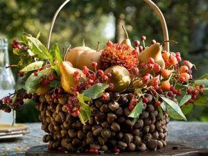 Осенняя пора, очей очарованье! 22 идеи креативного использования желудей. Ярмарка Мастеров - ручная работа, handmade.