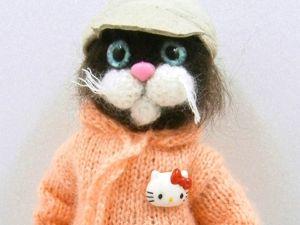 Кошка Спортсменка. Ярмарка Мастеров - ручная работа, handmade.