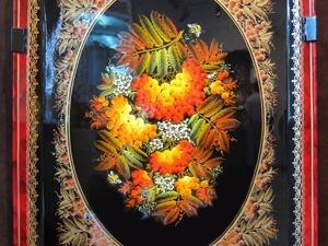 Нижнетагильская роспись. Часть 2: элементы композиции. Ярмарка Мастеров - ручная работа, handmade.