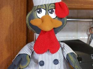 Шьем пакетницу «Петух-повар». Ярмарка Мастеров - ручная работа, handmade.