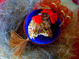 Делаем новогодний шарик из пенопластовой заготовки. Ярмарка Мастеров - ручная работа, handmade.