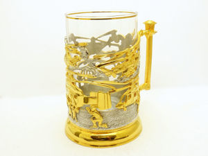 Подстаканник  «Вертолеты» . Златоуст z1547. Ярмарка Мастеров - ручная работа, handmade.