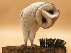 16 Adorable Animals on the Tip of a Brush, or An Idea for Felting from Simon Brown. Livemaster - handmade