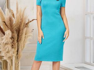 Аукцион на  Элегантное базовое платье! Старт 2500 р.!. Ярмарка Мастеров - ручная работа, handmade.